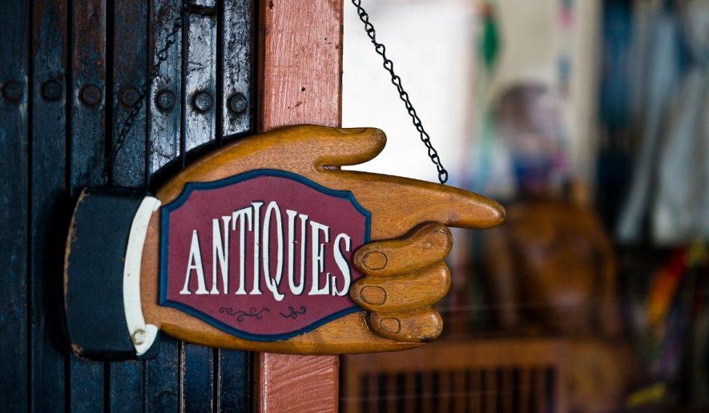 antiques stores